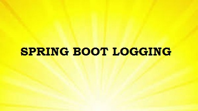 spring boot logging example