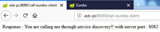 Eureka load balanced resttemplate example