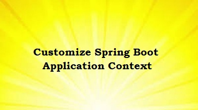 Customize Spring Boot Application Context Path