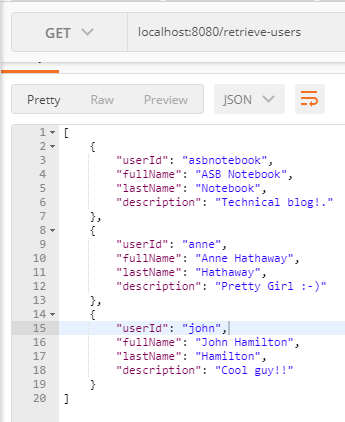 LDAP retrieve with unbind example