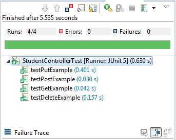 Spring Boot REST Controller JUnit Test